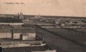 Панорама г.Вилюйска нач. ХХв.