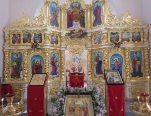 Интерьер Свято-Никольского храма